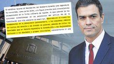 Pedro Sánchez recurrió al TC decretos ley de Rajoy