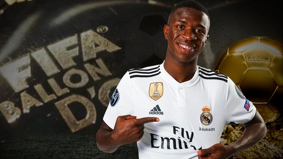 Vinicius, la gran esperanza del Real Madrid.