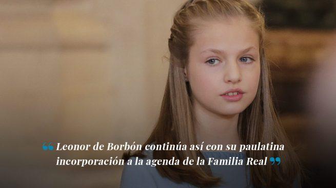 Asturias ultima los detalles de la visita oficial de la princesa Leonor al Principado