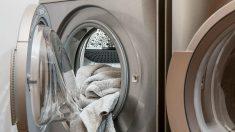 Encierra a un bebé en una lavadora para subirlo a las redes sociales