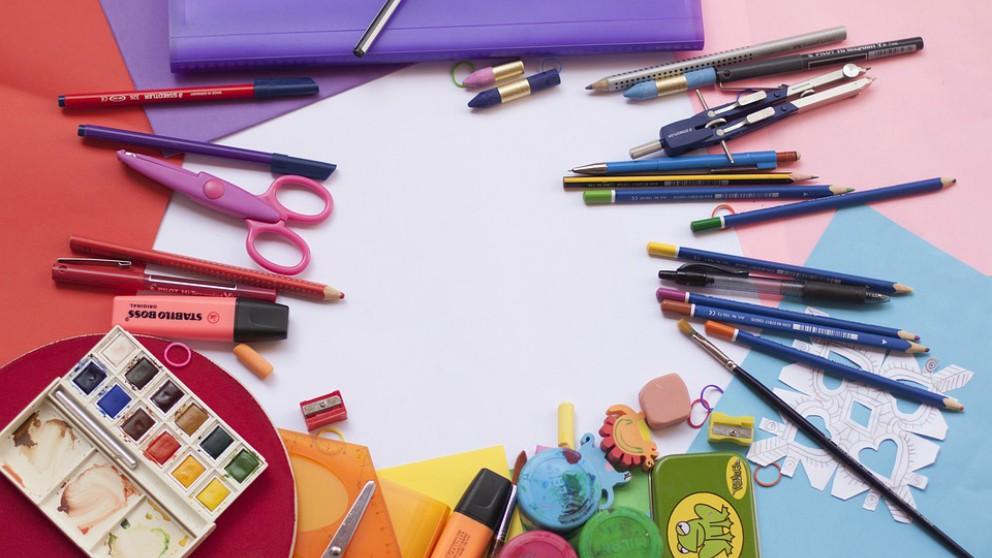 Material escolar imprescindible para comenzar el nuevo curso