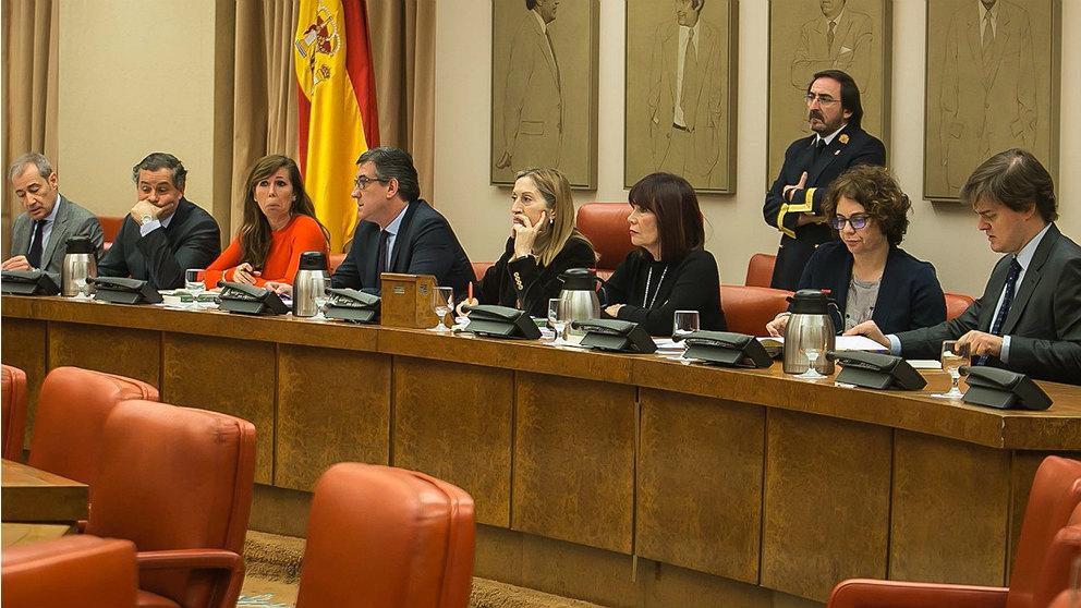 Reunión de la Mesa del Congreso, presidida por Ana pastor. (EP)