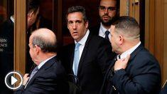 El ex abogado de Donald Trump en la Corte Federal de Estados Unidos en Nueva York en una foto tomada en abril de 2018. Foto: AFP