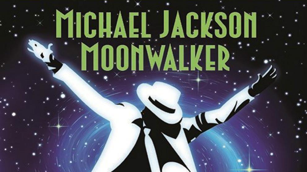 Cartel de la película de Michael Jackson 'Moonwalker'.