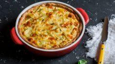 Receta de pastel de lentejas, un plato vegetariano, fácil y delicioso