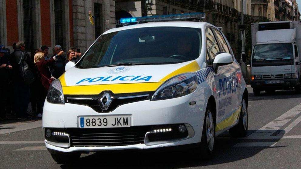 Un coche de la Policía Urbana de Madrid. Foto: Europa Press