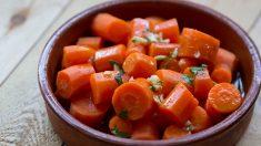 Receta de zanahorias morunas
