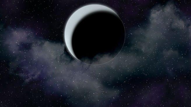 Dibujo Luna Nueva