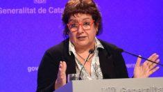 Dolors Bassa, la exconsejera catalana de Trabajo de la Generalitat.