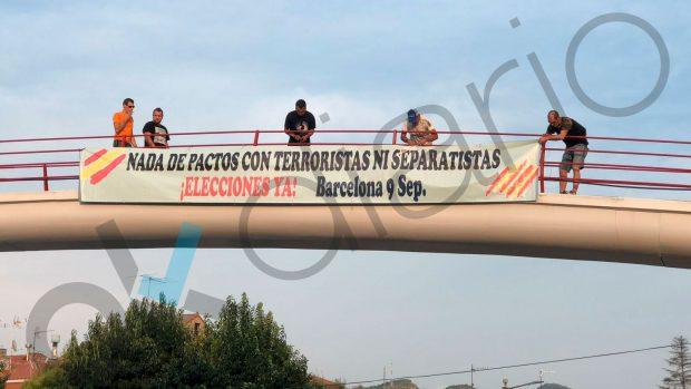 Enfrentamientos en Vilasar de Dalt (Barcelona).