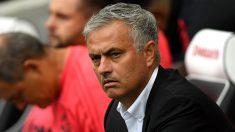 José Mourinho durante un partido con el Manchester United. (Getty)