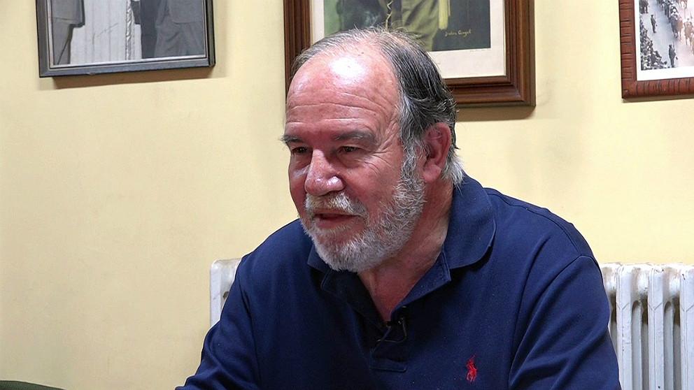 Juan Chicharro, presidente de la Fundación Francisco Franco. (OKD)