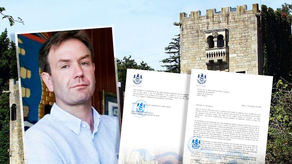 El alcalde de Sada envía una segunda carta a Sánchez para exigir la recuperación del Pazo de Meirás