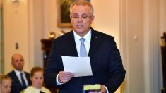 Scott Morrison, nuevo primer ministro de Australia (AFP).
