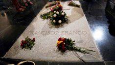 Tumba de Francisco Franco en la Basílica de Cuelgamuros del Valle de los Caídos.
