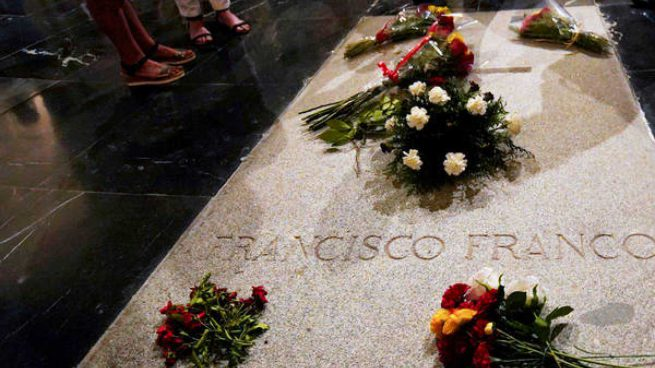 Exhumación Franco