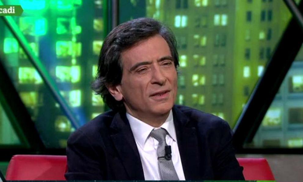 El periodista y escrito Arcadi Espada, en La Sexta Noche.