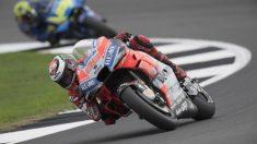 Jorge Lorenzo, en el GP de Gran Bretaña. (Getty)