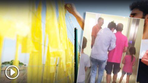 La mujer agredida ha sido ingresada en el Hospital del Mar de Barcelona.