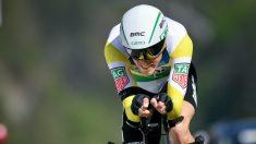 Rohan Dennis, en una contrarreloj. (AFP)