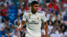 Casemiro, futbolista del Real Madrid. (Getty)