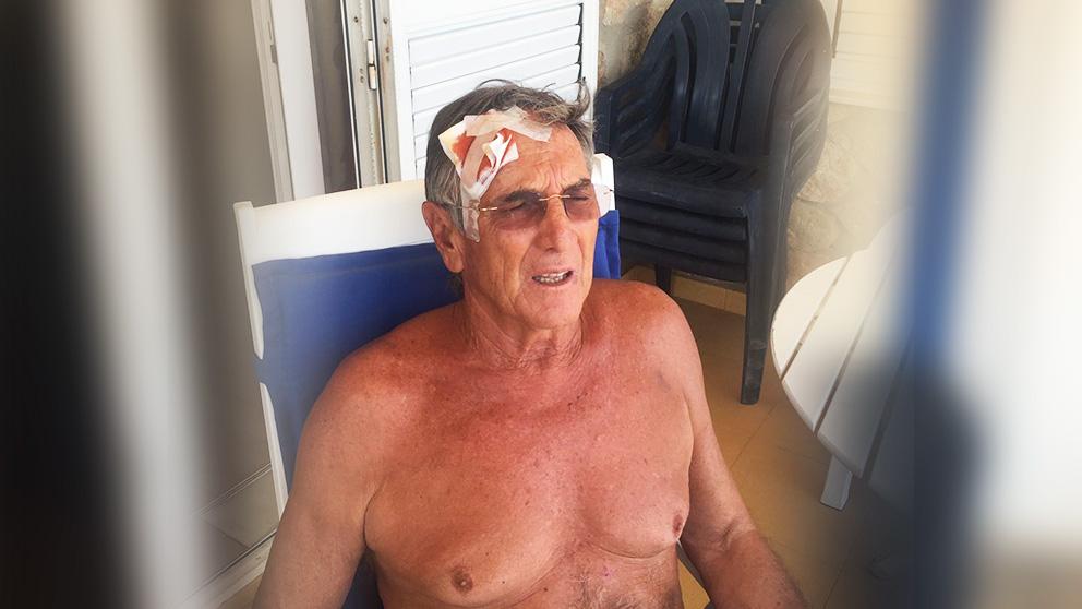 Eduardo Borrás, horas después de ser agredido por independentistas en un concierto en Valencia