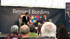 Puigdemont, este domingo en un acto en Escocia (Foto: EUROPA PRESS).
