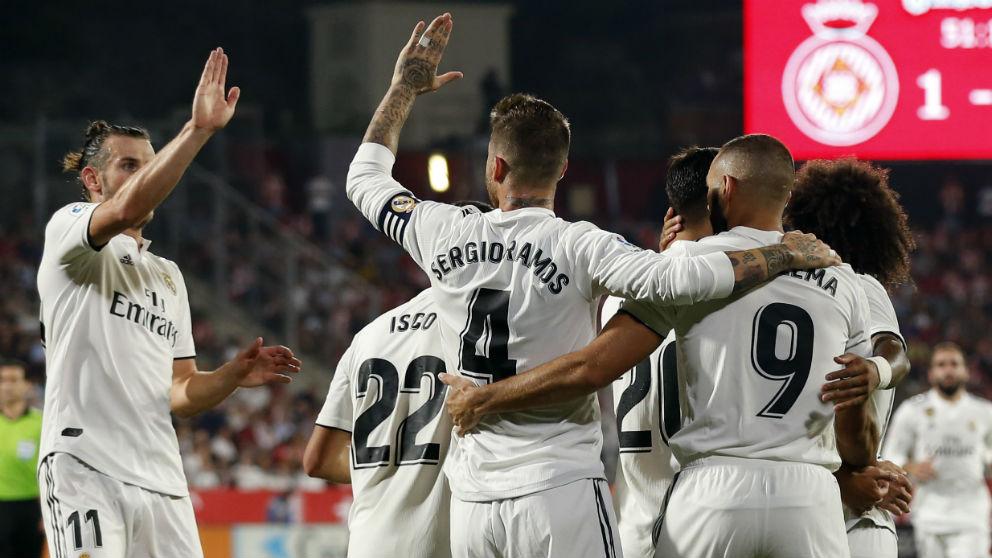 Girona real madrid resumen y los goles del partido de for Partido real madrid hoy