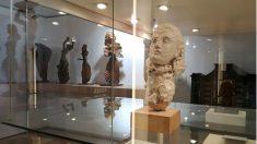 Busto en yeso 'Retrato de Dora Maar', obra de Pablo Picasso y Apel·les Fenosa. (Ayto. El Vendrell)