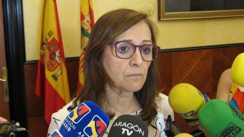 La delegada del Gobierno en Aragón, Carmen Sánchez (Foto: EP)