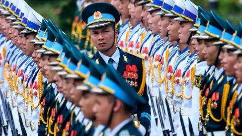 Ejército de Birmania, acusado de genocidio por la ONU. Foto: AFP