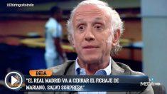Eduardo Inda tiene claro que Mariano fichará por el Real Madrid.