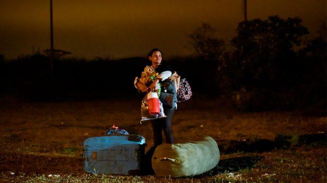 Venezuela alega que éxodo es usado para una