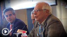 Josep Borrell, ministro de Exteriores, en la Universidad Menéndez Pelayo. (EP)