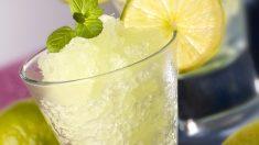 Receta de sorbete de lima-limón