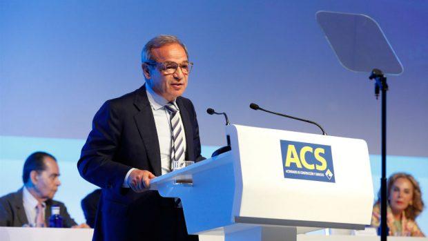 El mercado premia a ACS como la empresa que más negocio genera en el extranjero con una subida del 40% en t...