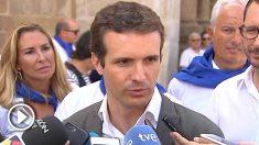 Pablo Casado, presidente del PP. (EP)