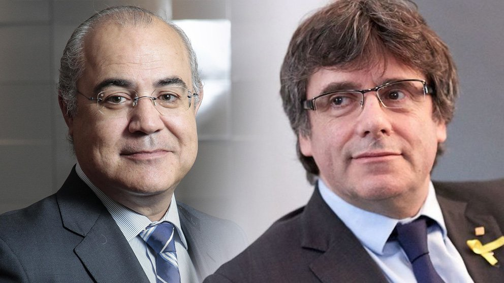 Pablo Llarena y Carles Puigdemont.