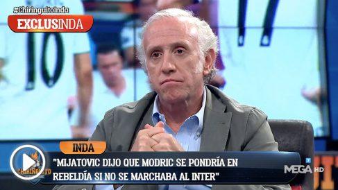 Luka Modric fue leal al Real Madrid.