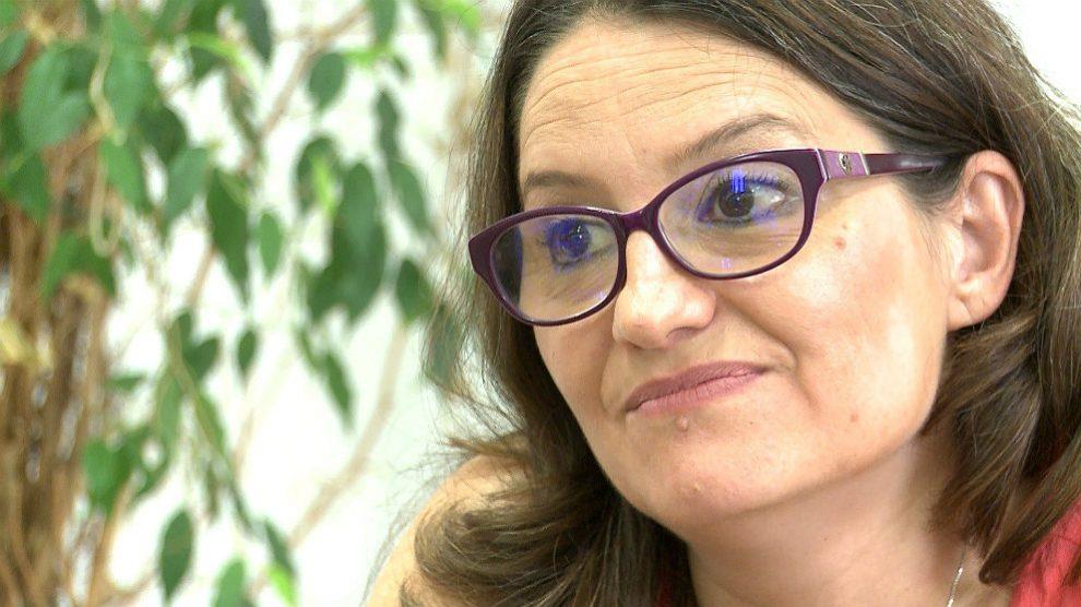 Mónica Oltra, líder de Compromís y vicepresidenta de la Comunidad Valenciana. (EP)