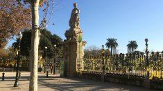 El parque de la Ciutadella de Barcelona repleto de lazos amarillos golpistas. (EP)