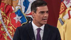 Pedro Sánchez. Foto: AFP