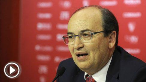 Pepe Castro, en una imagen de archivo. (Sevilla FC)