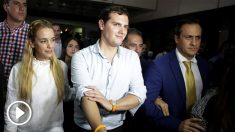 El presidente de Ciudadanos, Albert Rivera, junto a Lilian Tintori en Venezuela (Foto: Reuters)