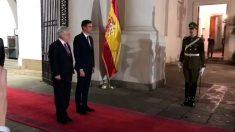 Sebastián Piñera, Presidente de Chile, recibe la visita de Pedro Sánchez, Presidente de España. Foto: EUropa Press