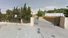 Fachada del albergue municipal de Alicante, donde reside el inmigrante sintecho que protagonizó el suceso.