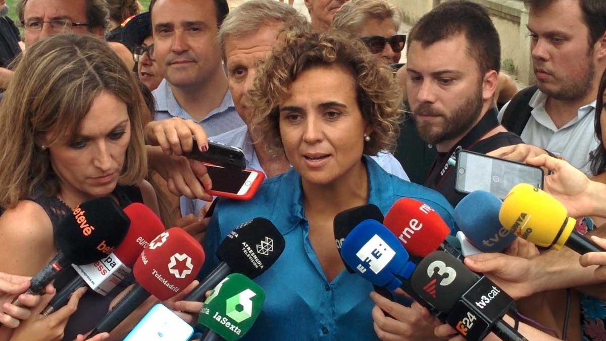 La portavoz del PP en el Congreso, Dolors Montserrat. (Foto: Europapress)