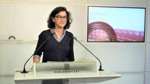 Eva Granados, portavoz del PSC. (EP)