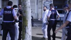 Los Mossos al mando del subinspector Escutia identifican a la brigada de limpieza de lazos golpistas en Gerona