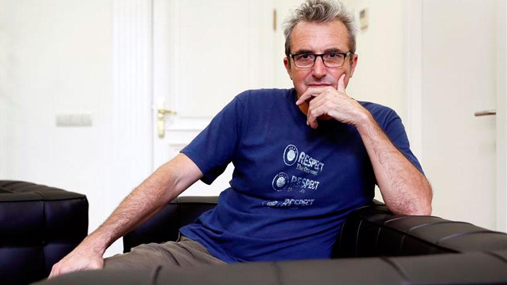 Mariano Barroso, actual director de la Academia de Cine española, dirigirá la nueva serie de Movistar+ sobre el primer asesinato de ETA. Foto: EFE